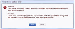 QuickBooks Error 15106