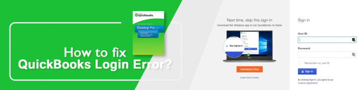 QuickBooks login Error