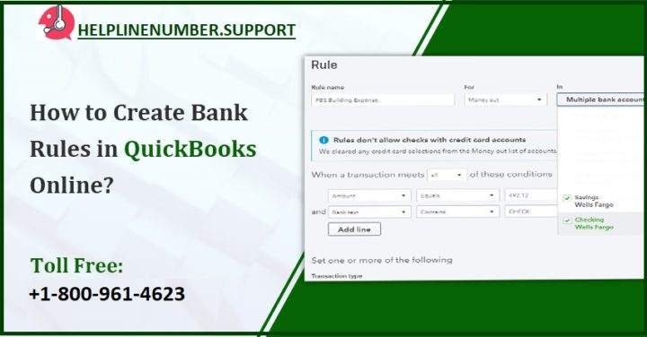 Bank rules in QuickBooks