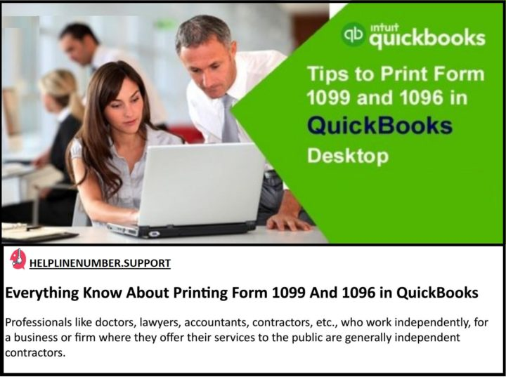 How to Print 1099-MISC Forms in QuickBooks?