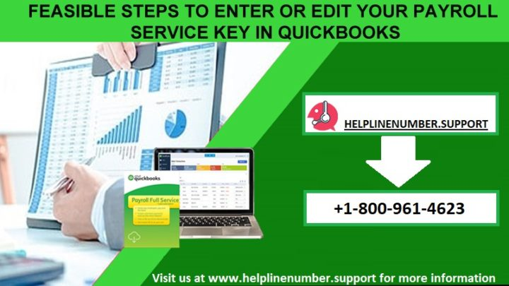 How to Enter or Edit Your Payroll Service Key in QuickBooks?