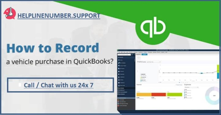 How to Record a Vehicle Purchase in Quickbooks?