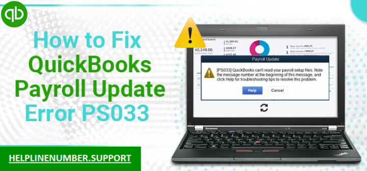 QuickBooks Payroll Error PS033